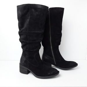 Born | NWT Doyle Tall Slouchy Suede Leather Boot